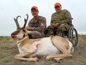 Cody Page w/ brother Kyle 2013 Outdoor Dream Foundation