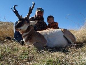 Tanner McCarty's 1st Antelope Hunt 2014
