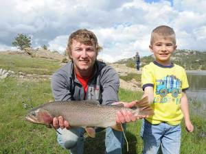 Cougar Sanchez and Tanner - 2015 Fishing