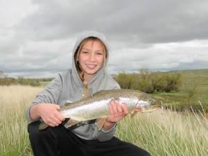 Lilly Sanchez Fishing