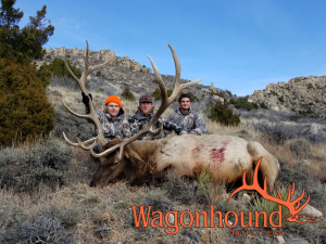 Andrew McCormick 2018 Hunt at Wagonhound Land & Livestock with Wagonhound Outfitters
