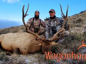 Dave and Joe Kap 2018 Hunt at Wagonhound Land & Livestock with Wagonhound Outfitters