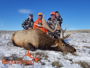 Demp Posey 2018 Hunt at Wagonhound Land & Livestock with Wagonhound Outfitters
