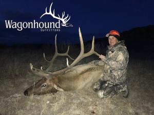 Gene Titzel 2018 Hunt at Wagonhound Land & Livestock with Wagonhound Outfitters