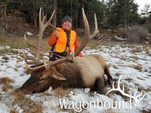 Greg Martinovich 2018 Hunt at Wagonhound Land & Livestock with Wagonhound Outfitters