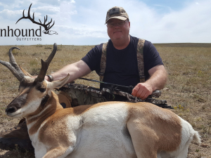 Jerry Hanson 2018 Hunt at Wagonhound Land & Livestock with Wagonhound Outfitters