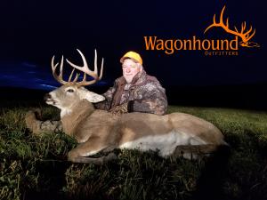 John Edwards 2018 Hunt at Wagonhound Land & Livestock with Wagonhound Outfitters