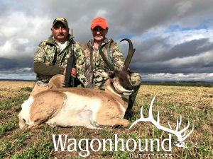 Pete and Helen Pare' 2018 Hunt at Wagonhound Land & Livestock with Wagonhound Outfitters