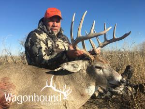 Randy Barrett 2018 Hunt at Wagonhound Land & Livestock with Wagonhound Outfitters