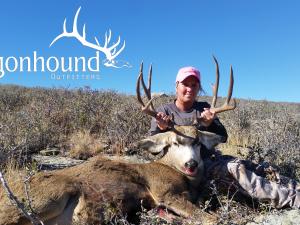 Rhonda Smith 2018 Hunt at Wagonhound Land & Livestock with Wagonhound Outfitters