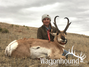 Shelby Peterson 2018 Hunt at Wagonhound Land & Livestock with Wagonhound Outfitters