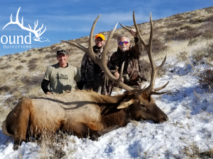Tom Bandy 2018 Hunt at Wagonhound Land & Livestock with Wagonhound Outfitters