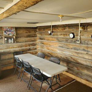 Hanna cabin dining