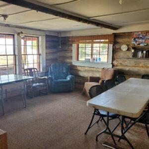 Hanna cabin interior